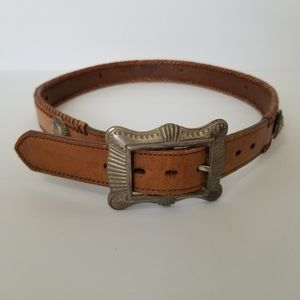 Legends Collection Brown Leather Western Belt